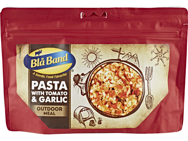 Bla Band Outdoor Meal Pasta with Tomato & Garlic